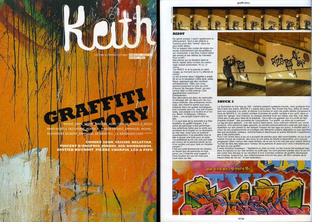 2009 / interview-KEITH n°9 BIS
